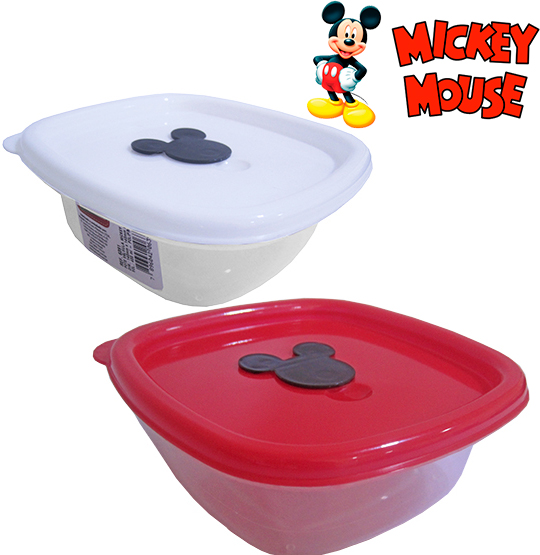 POTE QUADRADO MICKEY 400ML