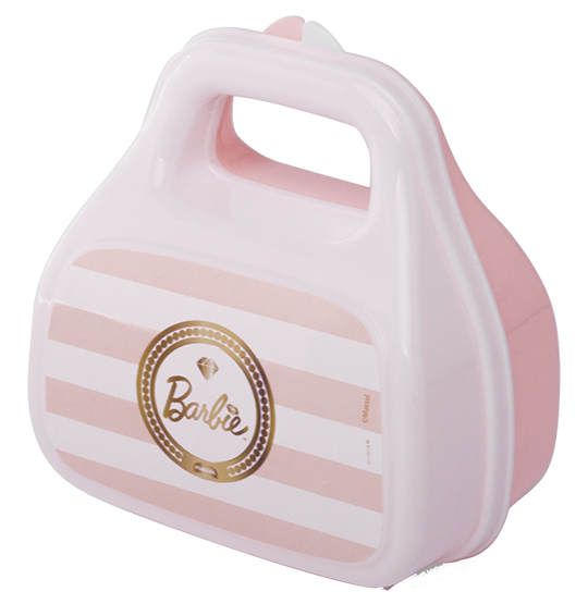 PORTA MIX COM ALCA BARBIE 430 ML L:12.5 X P:72 X A:13 CM