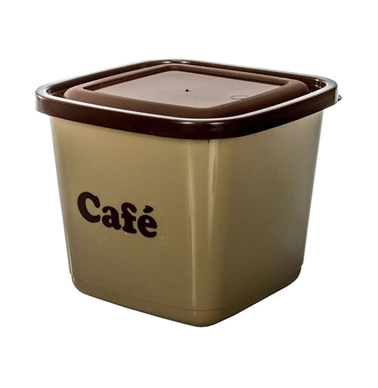 POTE PARA MANTIMENTO QUADRADO CAFE 1100ML