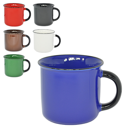 CANECA DE PORCELANA COLORS 380ML