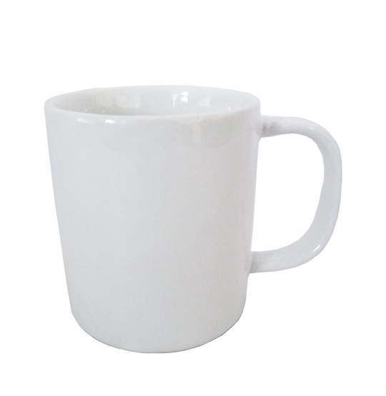 CANECA DE PORCELANA BRANCA REAL 300ML