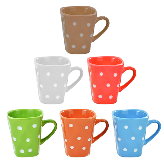 CANECA DE PORCELANA/CERAMICA POA 175ML COLORS