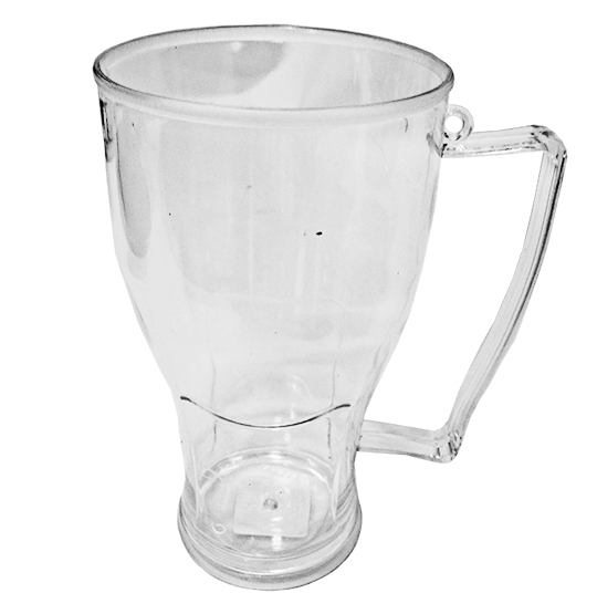 CANECA DE PLASTICO PS PARA CHOPP BIG CRISTAL 600ML