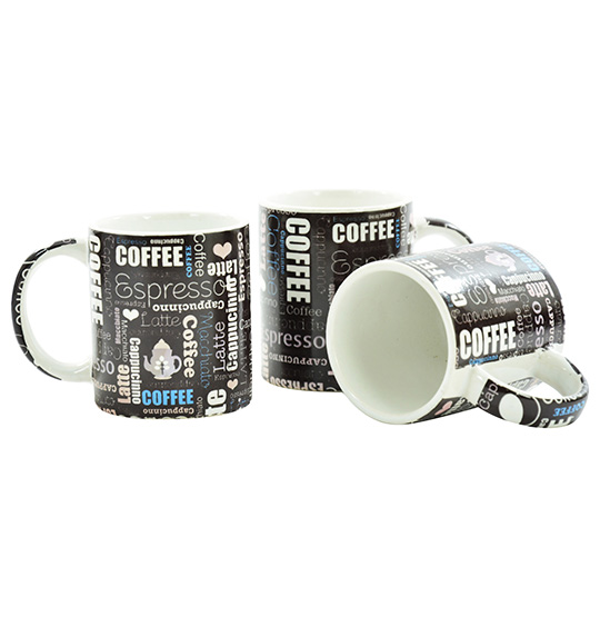CANECA DE PORCELANA COFFEE SORTIDAS 80ML