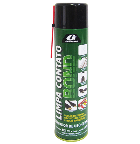 LIMPA CONTATO BOND SPRAY 300ML 200G
