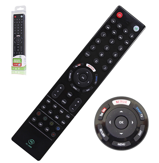 CONTROLE REMOTO UNIVERSAL PARA SMART-TV LCD / LED