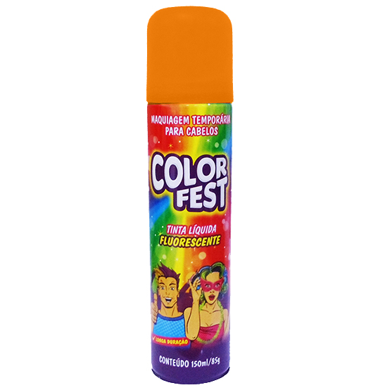 TINTA LIQUIDA COLOR FEST LARANJA 150ML 85G