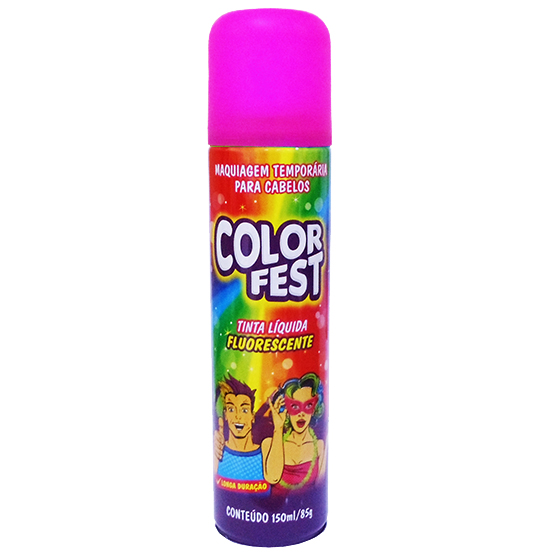 TINTA LIQUIDA COLOR FEST ROSA 150ML 85G