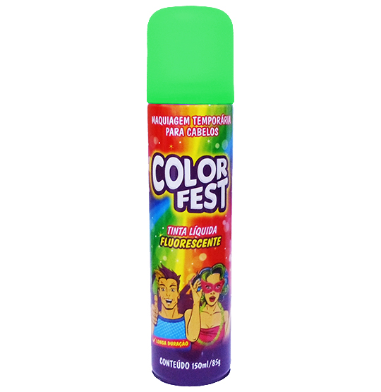TINTA LIQUIDA COLOR FEST VERDE 150ML 85G