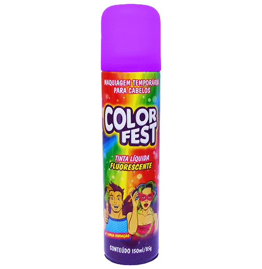TINTA LIQUIDA COLOR FEST ROXA 150ML 85G
