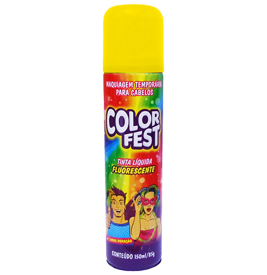 TINTA LIQUIDA COLOR FEST OURO 150ML 85G
