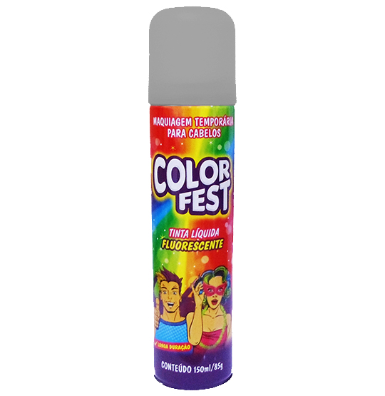 TINTA LIQUIDA COLOR FEST PRATA 150ML 85G