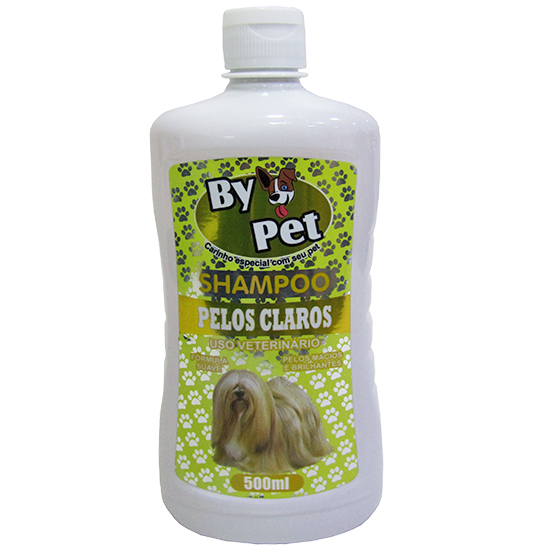 SHAMPOO BY PET PELOS CLAROS 500ML