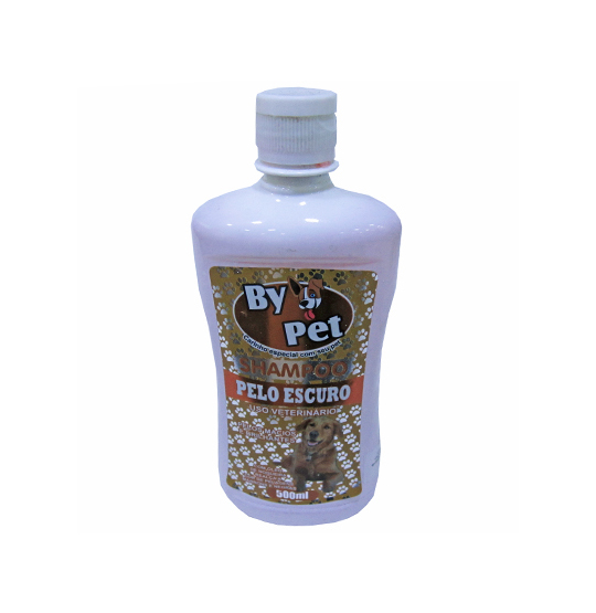SHAMPOO PARA PET PELOS ESCUROS BY PET 500ML