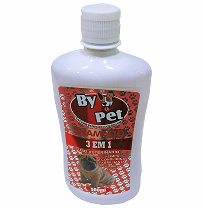 SHAMPOO PARA PET 3 EM 1 BY PET 500ML