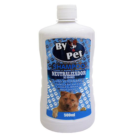 SHAMPOO BY PET NEUTRALIZADOR DE ODORES 500ML