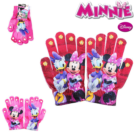 LUVA DE LA INFANTIL COLORS MINNIE