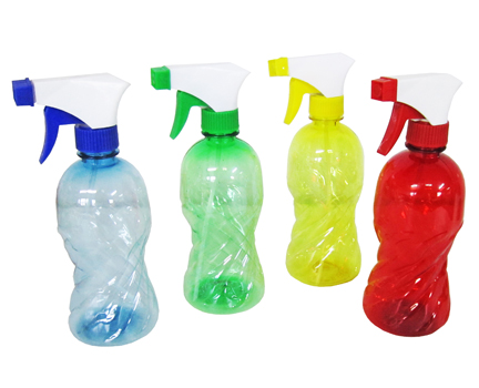 PULVERIZADOR / BORRIFADOR DE PLASTICO GARRAFA COLORS 450ML