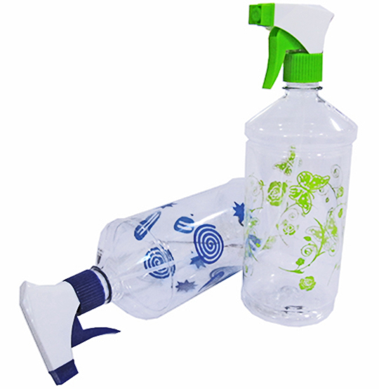 PULVERIZADOR / BORRIFADOR CRISTAL DECORADO 1000ML