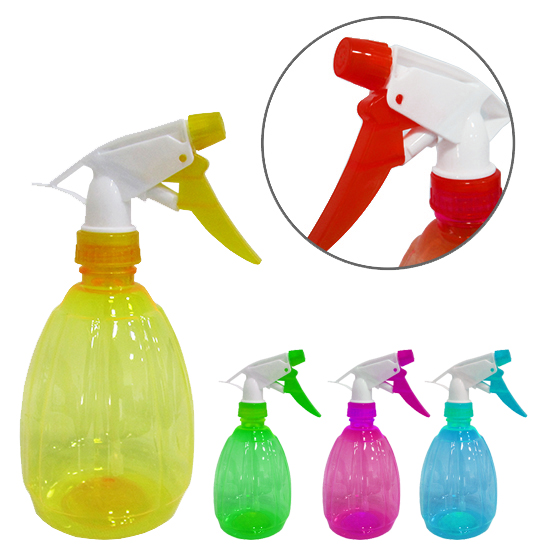 PULVERIZADOR / BORRIFADOR DE PLASTICO COLORS 550ML