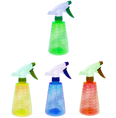 PULVERIZADOR/BORRIFADOR DE PLASTICO COLORS 550ML