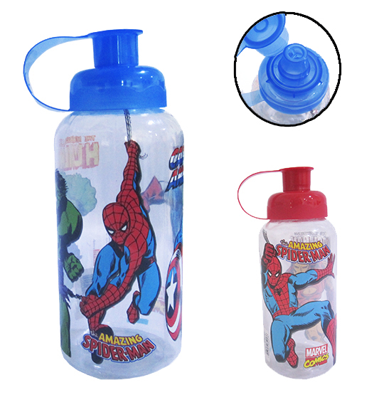 GARRAFA / SQUEEZE PET 600ML MARVEL
