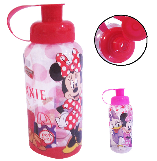 GARRAFA/SQUEEZE PET 600ML MINNIE