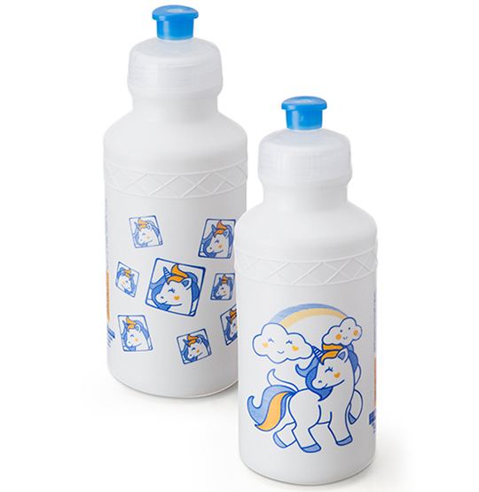 GARRAFA / SQUEEZE SLEEVE UNICORNIO COLORS 500ML