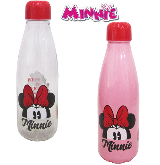 GARRAFA / SQUEEZE DE PLASTICO PET PARIS MINNIE 600ML