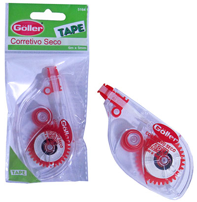 FITA CORRETIVO TAPE 6MX5MM NA SOLAPA