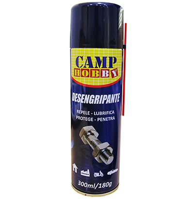 DESENGRIPANTE ANTICORROSIVO CAMP HOBBY 300ML 180G
