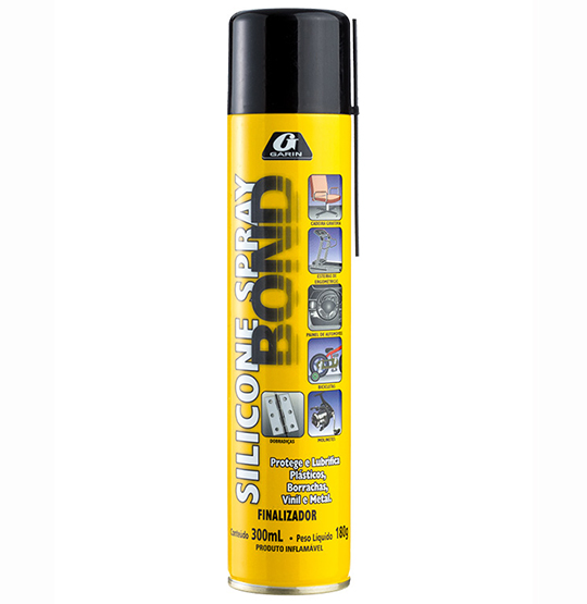 SILICONE SPRAY BOND FINALIZADOR 300ML 180G
