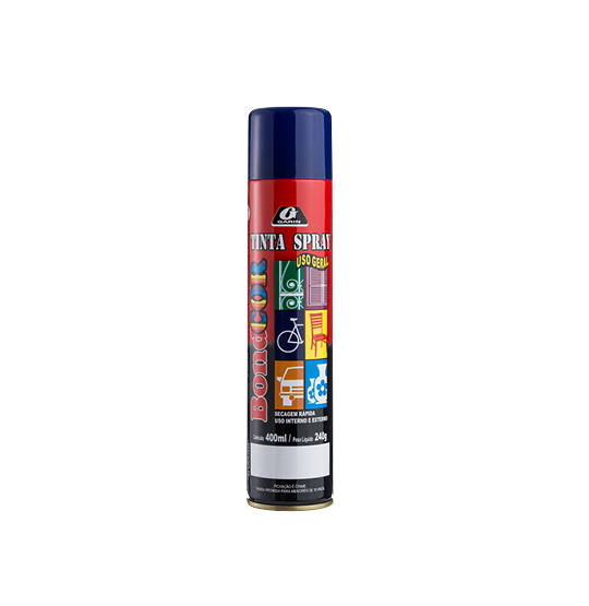 TINTA SPRAY AZUL ESCURO BONDCOR 400ML 240G