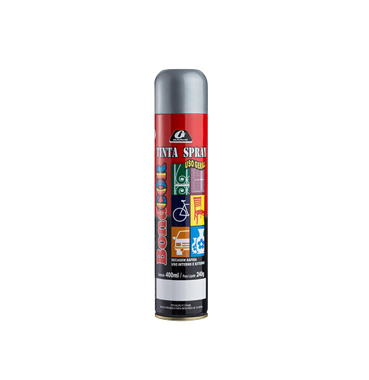 TINTA SPRAY GRAFITE BONDCOR 400ML 240G
