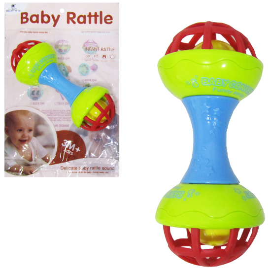 CHOCALHO DIVERTIDO BABY RATTLE COLORS