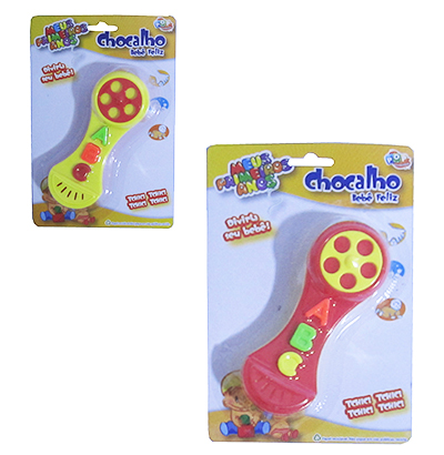 CHOCALHO BEBE FELIZ TELEFONE ABC COLORS