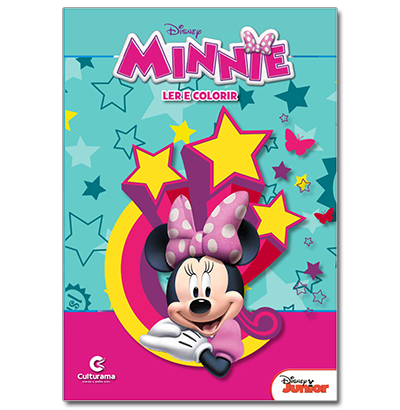 LER E COLORIR MEDIO MINNIE 27,5X20,5CM