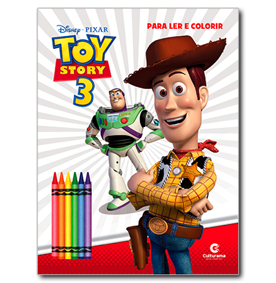LER E COLORIR TOY STORY COM 6 GIZES NO BLISTER A:28XL:21.5CM