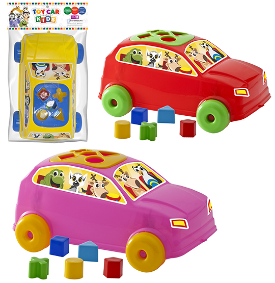 CARRO DIDATICO COM ACESSORIOS TOY CAR KIDS COLORS
