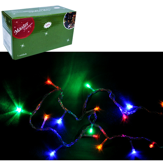 PISCA 100 LEDS COLORS 127V 8,5M 8 FUNCOES