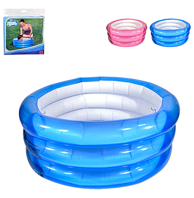 PISCINA INFLAVEL 3 ANEIS 48L 70X30CM