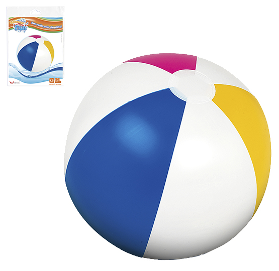 BOLA DE PRAIA INFLAVEL TRADICIONAL COLORS 40CM DE Ø SUMMER FUN