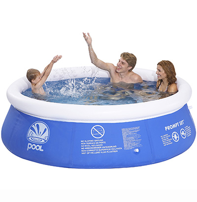 PISCINA  INFLAVEL COM BORDA 3966 L 300X76CM