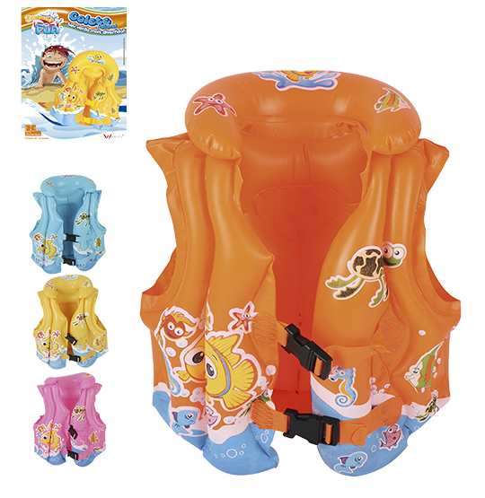 COLETE INFLAVEL INFANTIL COLORS 40X38X18CM SUMMER FUN