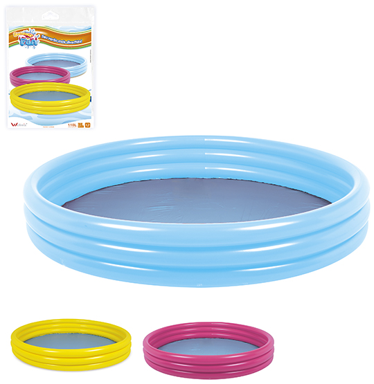 PISCINA INFLAVEL 3 ANEIS 118L 23X99CM DE Ø SUMMER FUN