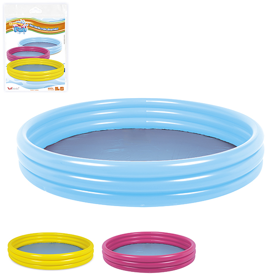 PISCINA INFLAVEL 3 ANEIS 400L 25X157CM DE Ø SUMMER FUN