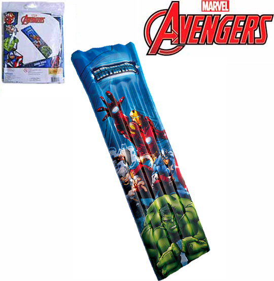 COLCHAO INFLAVEL 185X70CM AVENGERS
