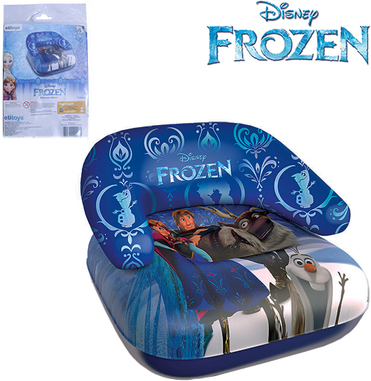 MINI POLTRONA INFLAVEL 60CM  FROZEN