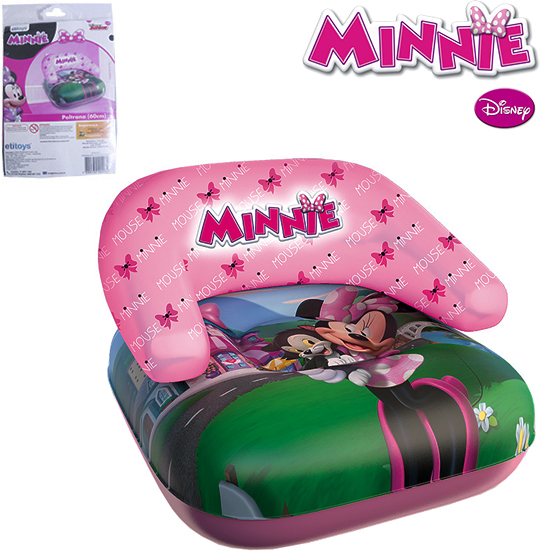 MINI POLTRONA INFLAVEL 60CM MINNIE