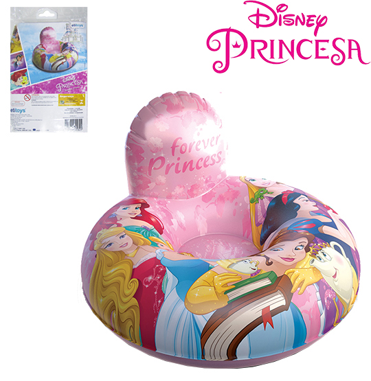 MINI POLTRONA INFLAVEL PRINCESAS 70CM
